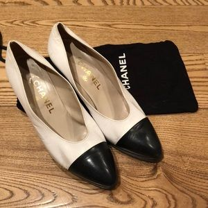 Chanel Cap Toe Pump
